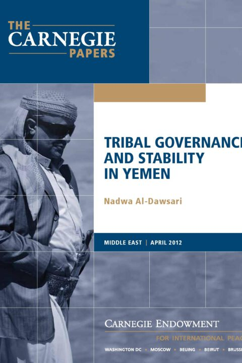 Tribal Governance and Stability in Yemen