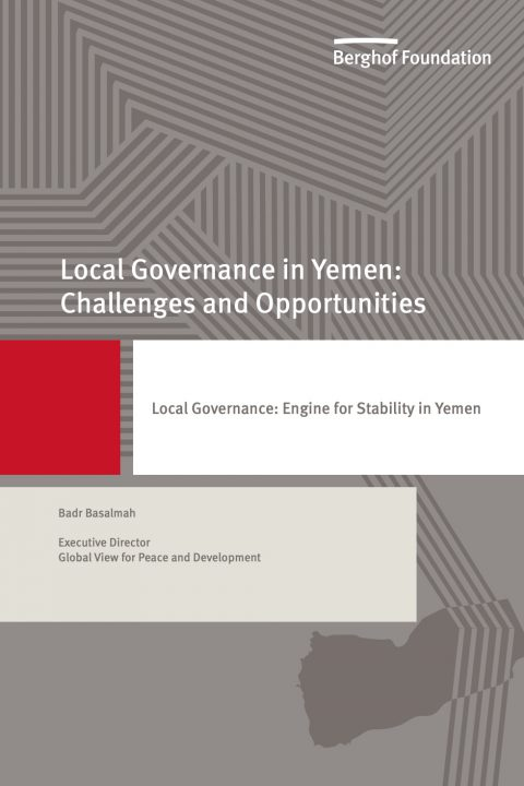 Local Governance: Engine for Stability in Yemen