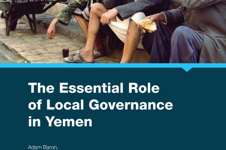 The Essential Role of Local Governance in Yemen